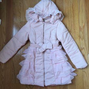 NWOT Richie House girls fancy pink jacket/ coat
